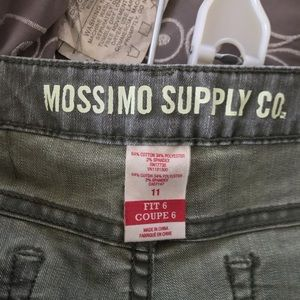 Mossimo Supply Co. Jeans - Mossimo Supply Co Olive Green Cropped Jeans 11